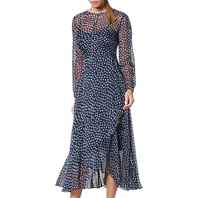 L.K.Bennett Beya Dress, Blue Multi
