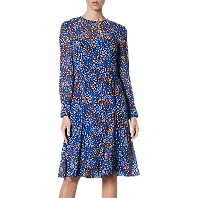 L.K.Bennett Alisa Dress, Blue/Multi