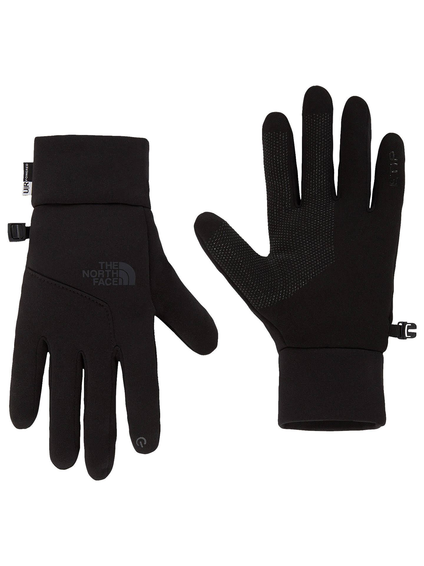 BuyThe North Face Etip Gloves, Black, S Online at johnlewis.com