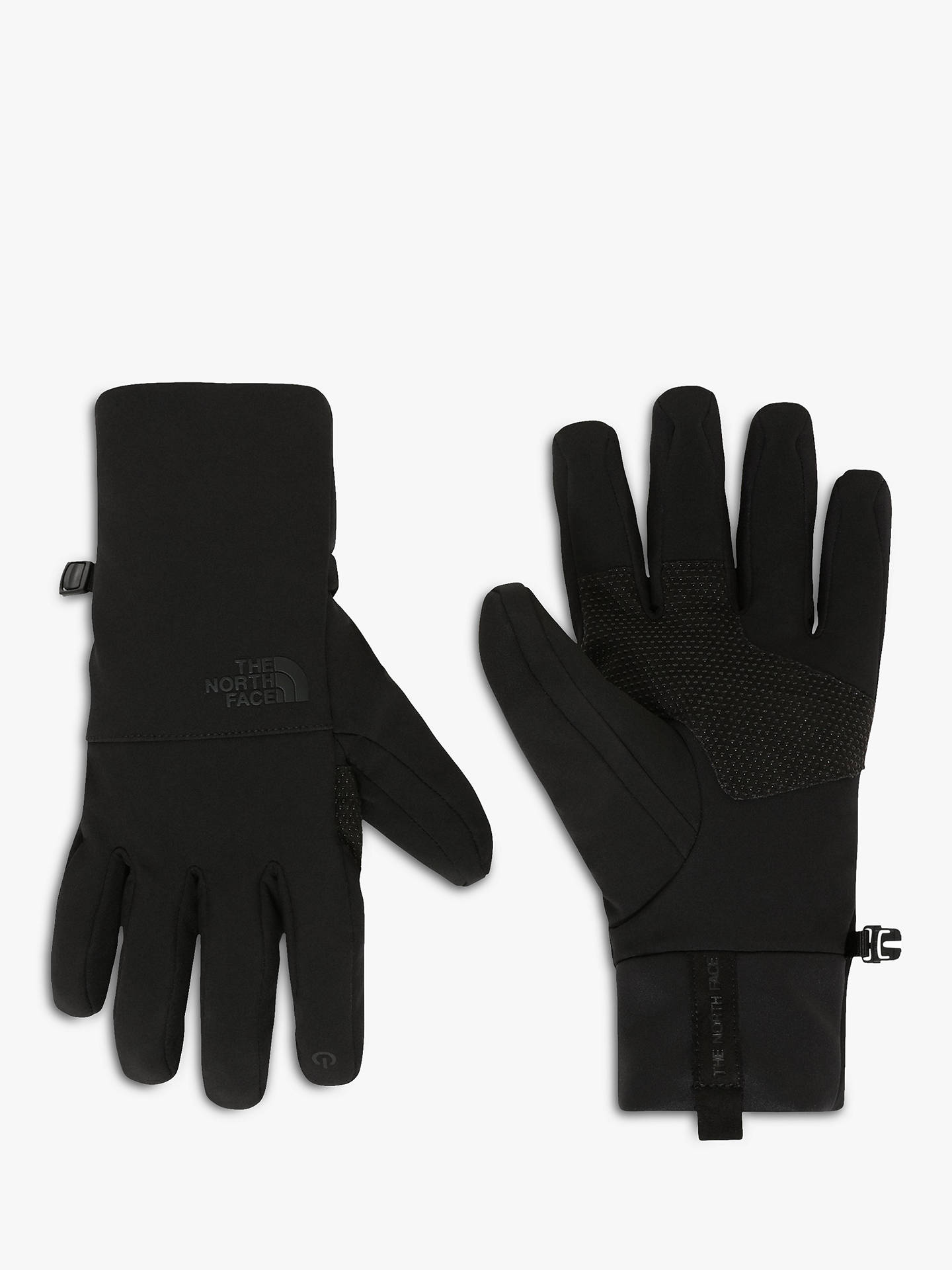 Buy The North Face Apex Etip Men's Gloves, Black, S Online at johnlewis.com