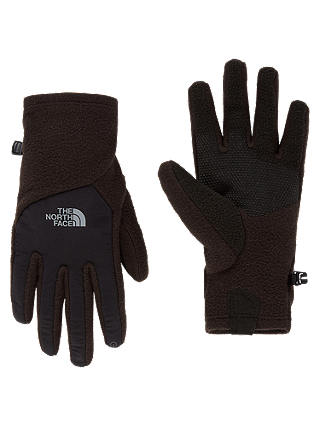 Buy The North Face Denali Etip Women's Gloves, Black, S Online at johnlewis.com
