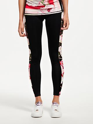 Ted Baker Bloom Panel Yoga Pants, Xmid Red