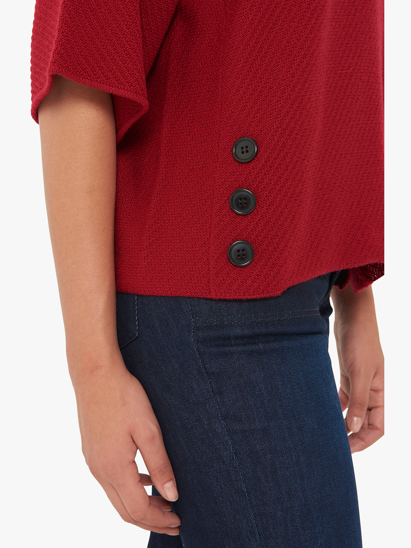 BuyGerard Darel Carly Jumper, Mid Red, 8-10 Online at johnlewis.com