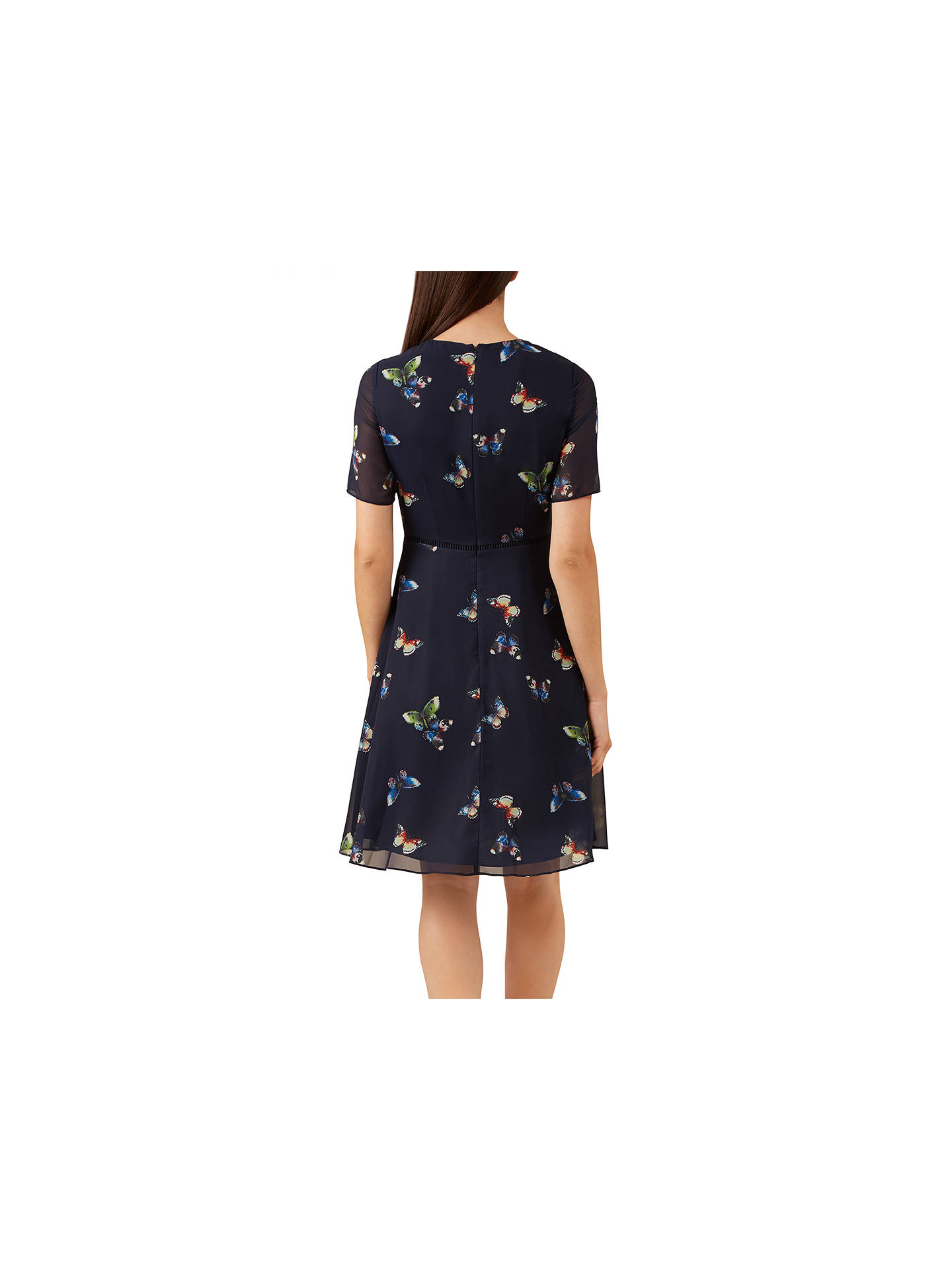 42cc5a1d5 ... Buy Hobbs Cecily Dress, Multi, 10 Online at johnlewis.com ...