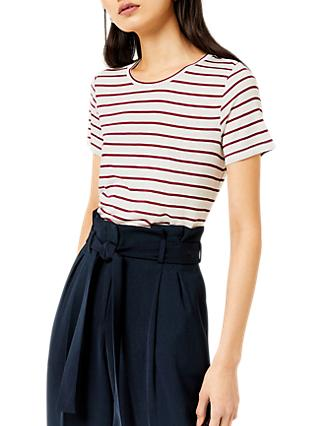 Warehouse Smart Fit Striped T-Shirt