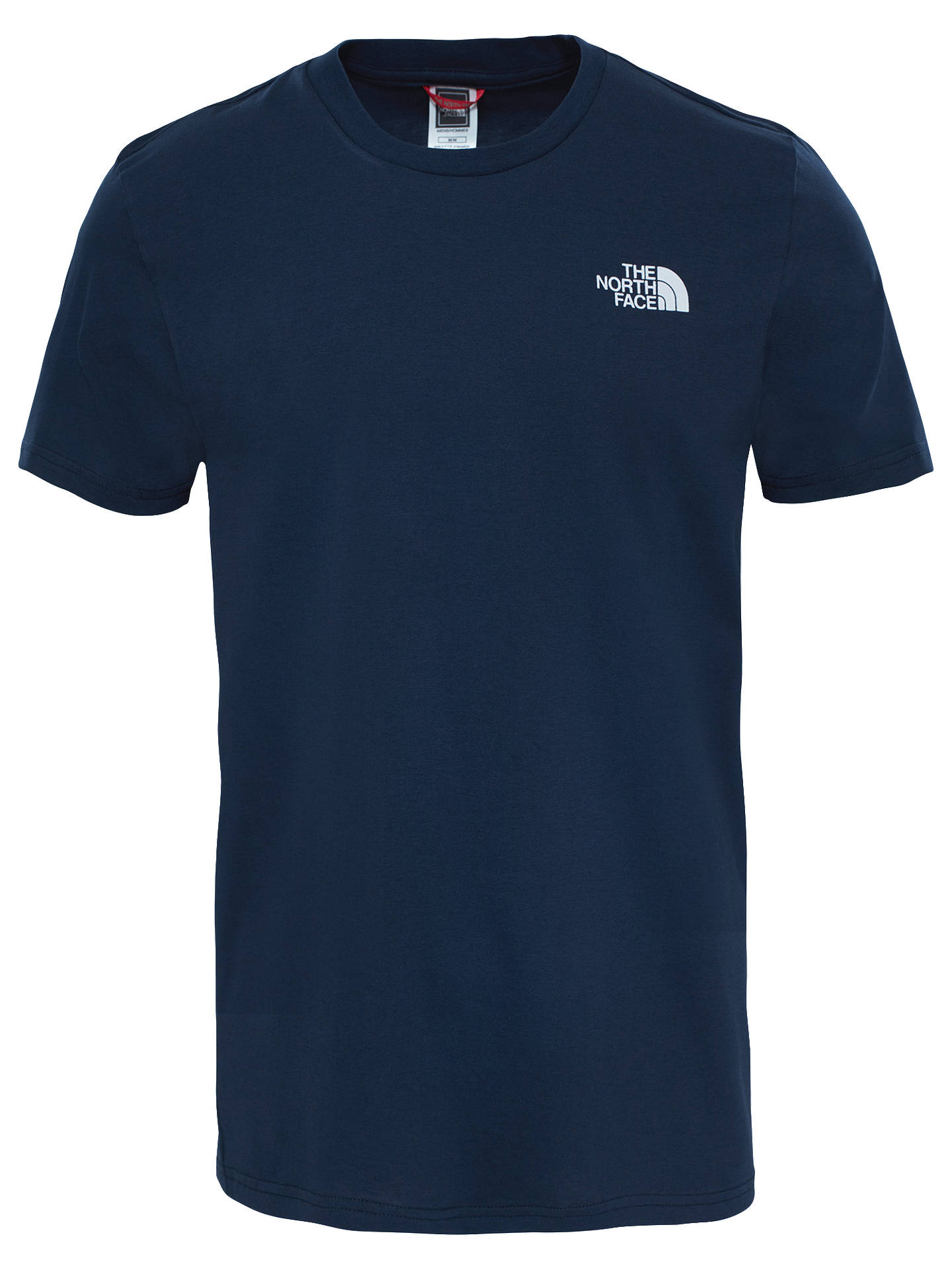 BuyThe North Face Short Sleeve Dome T-Shirt, Urban Navy/White, M Online at johnlewis.com