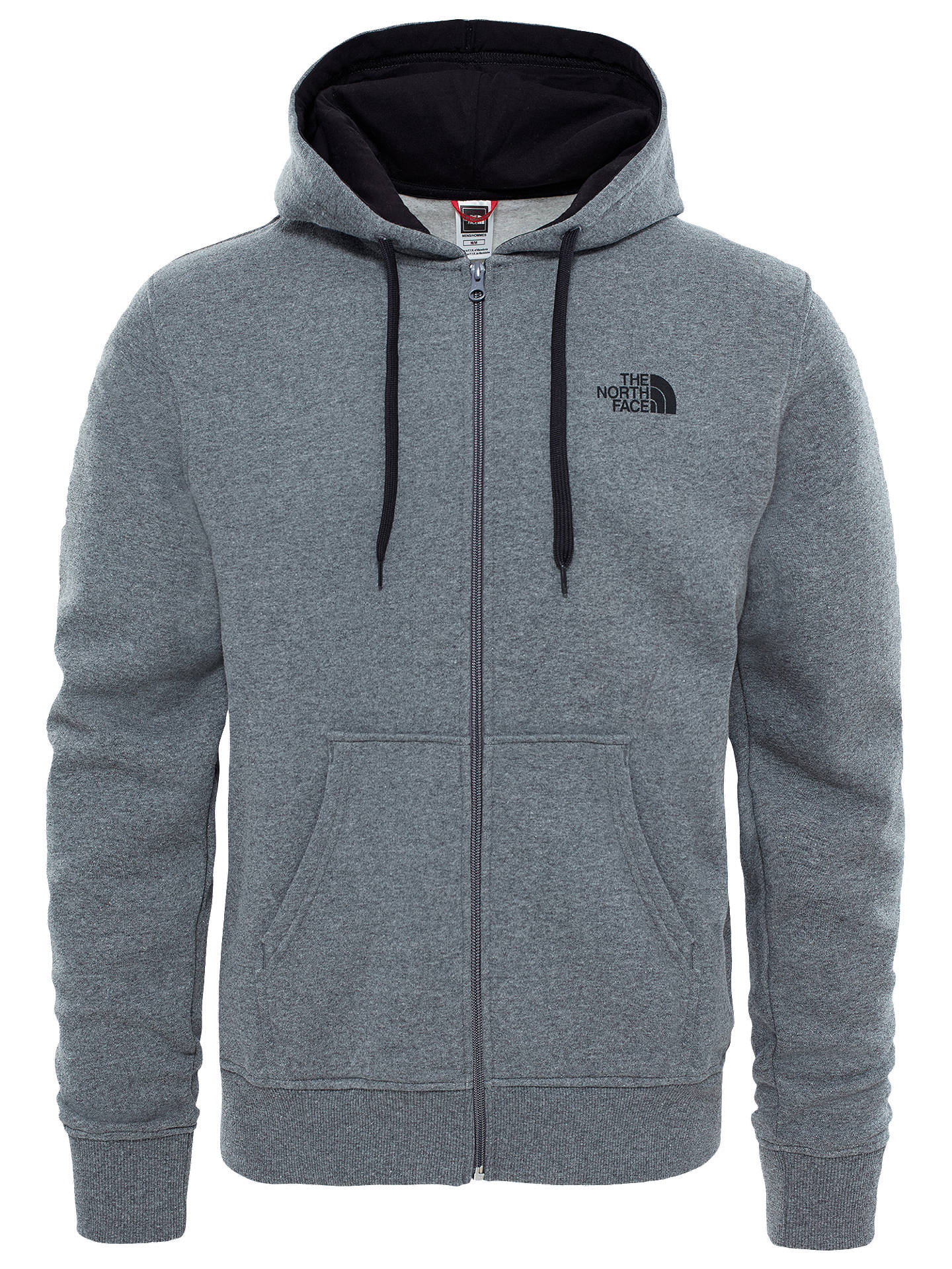 BuyThe North Face Open Gate Hoodie, Medium Grey Heather, S Online at johnlewis.com
