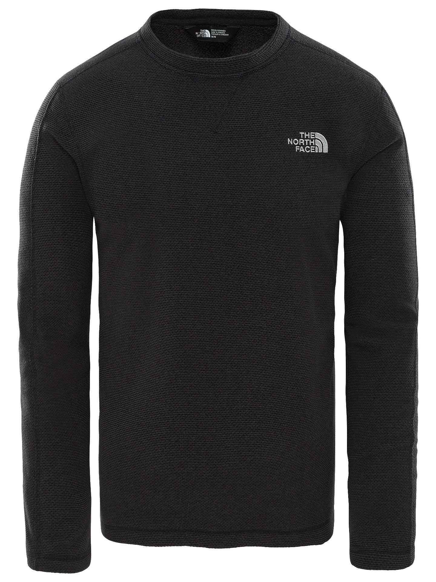 Buy The North Face Texture Cap Rock, Black, XL Online at johnlewis.com