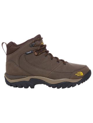 The North Face Storm Strike Mid Men's Waterproof Hiking Boots, Slate Grey/Leopard Yellow