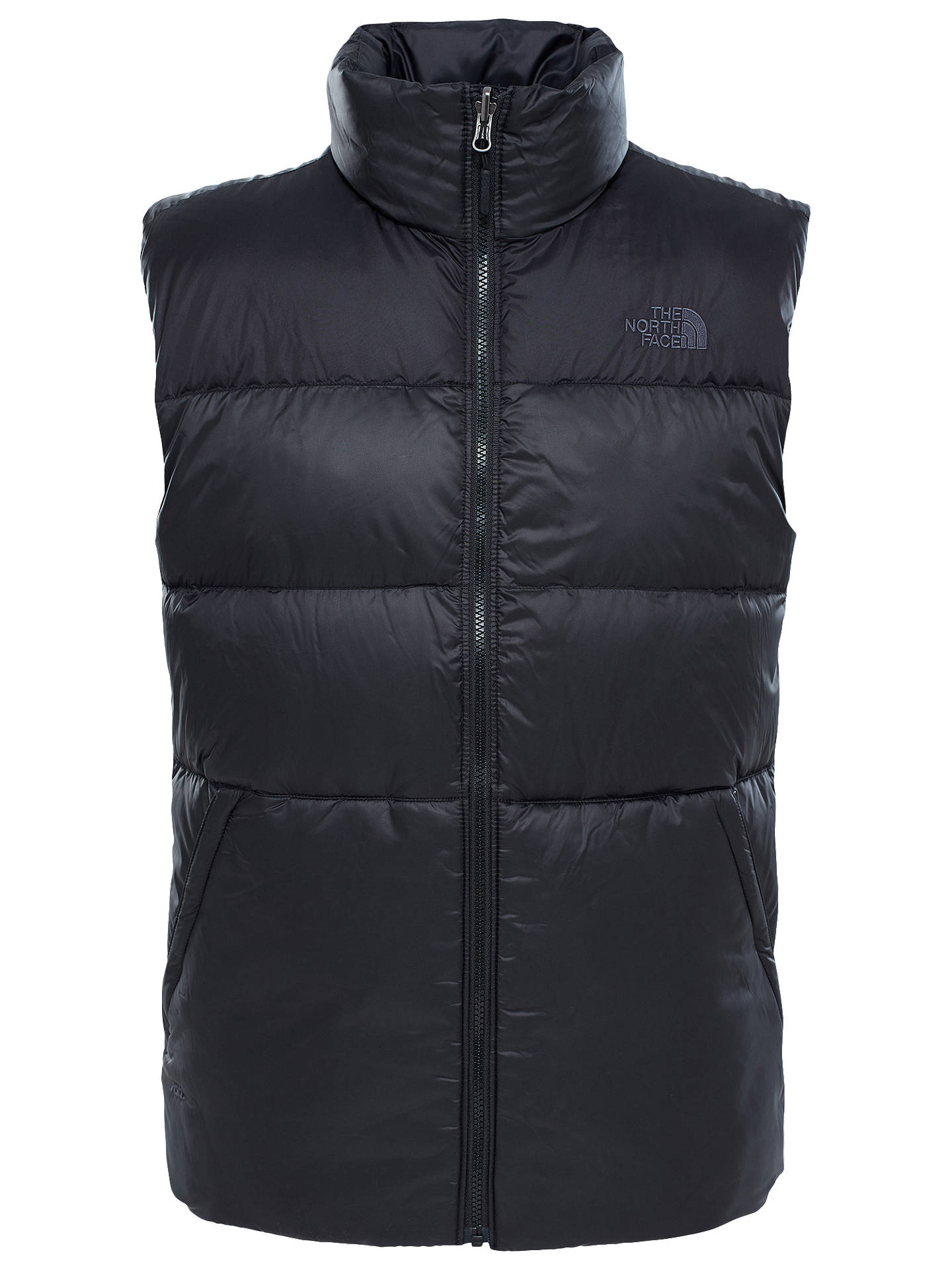 the north face nuptse 3 men s vest black at john lewis partners rh johnlewis com