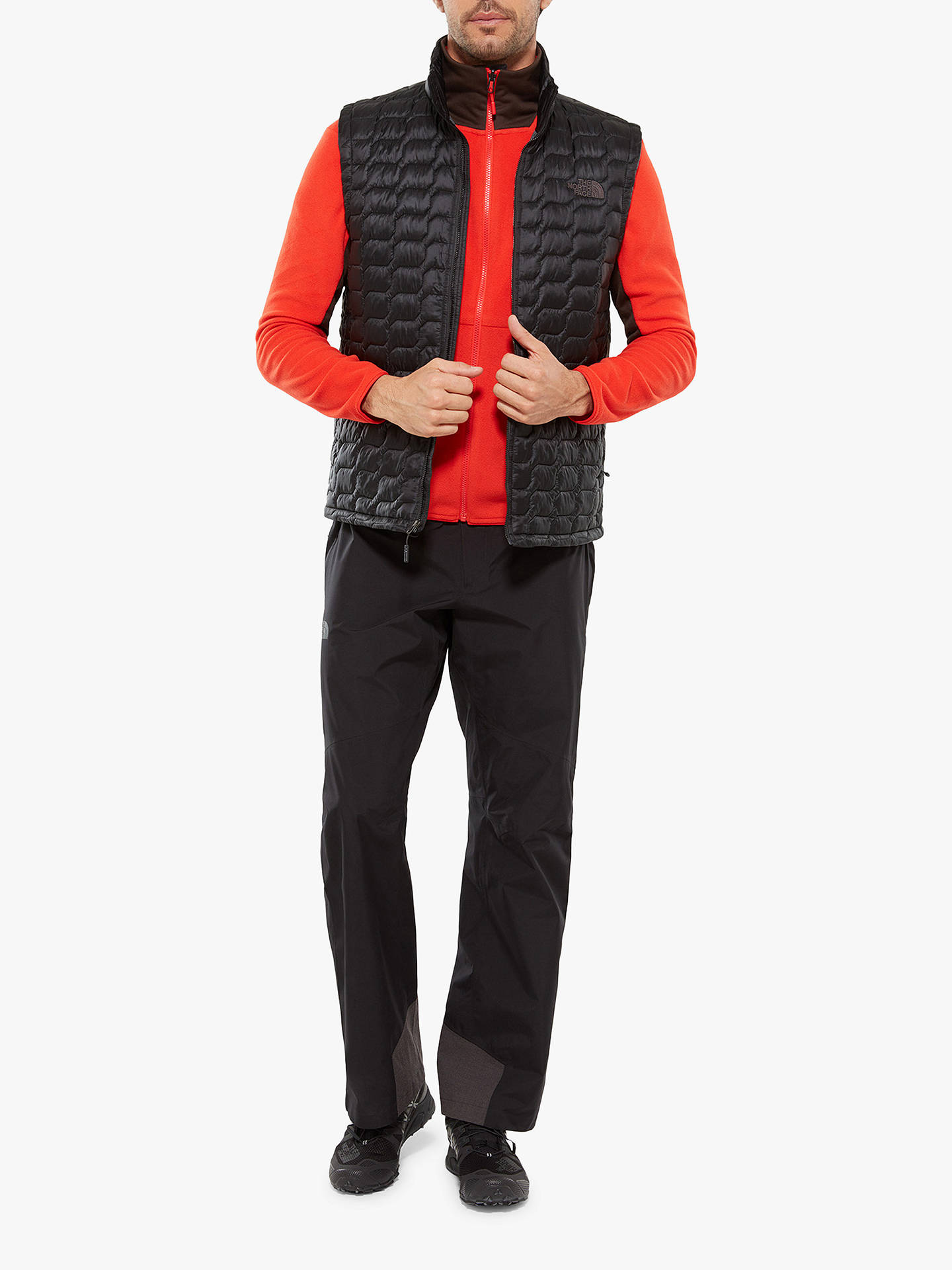 Buy The North Face Thermoball Men's Insulated Gilet, TNF Black, L Online at johnlewis.com