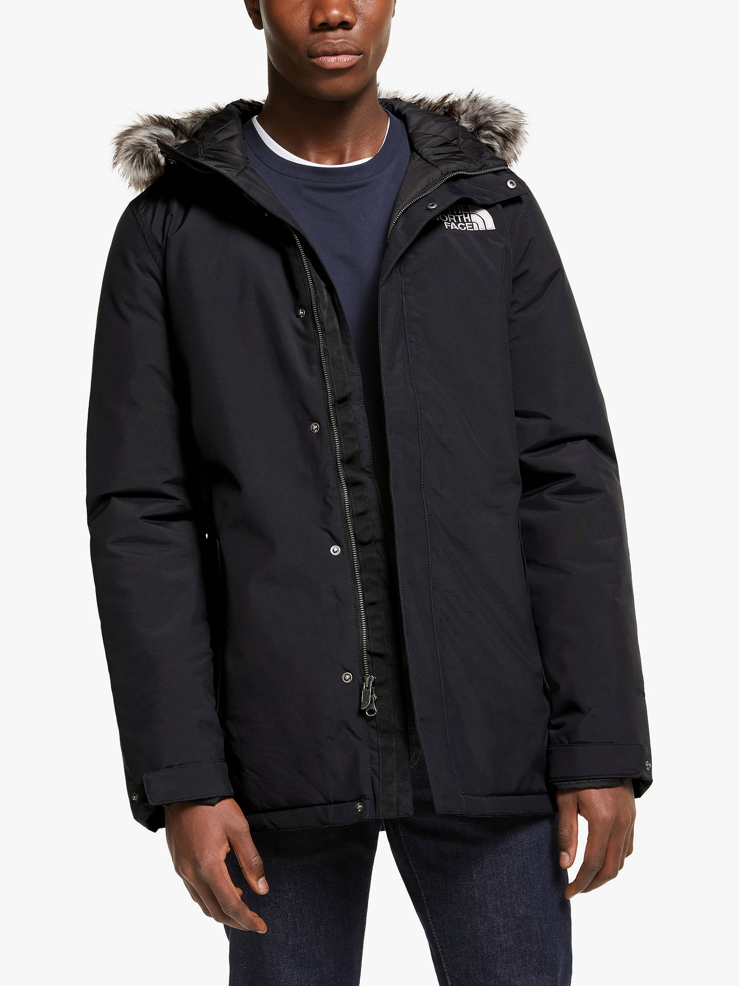 2a5ad18b6 The North Face Zaneck Men's Jacket, Black at John Lewis & Partners