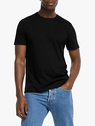 John Lewis & Partners Supima Cotton Jersey Crew Neck T-Shirt
