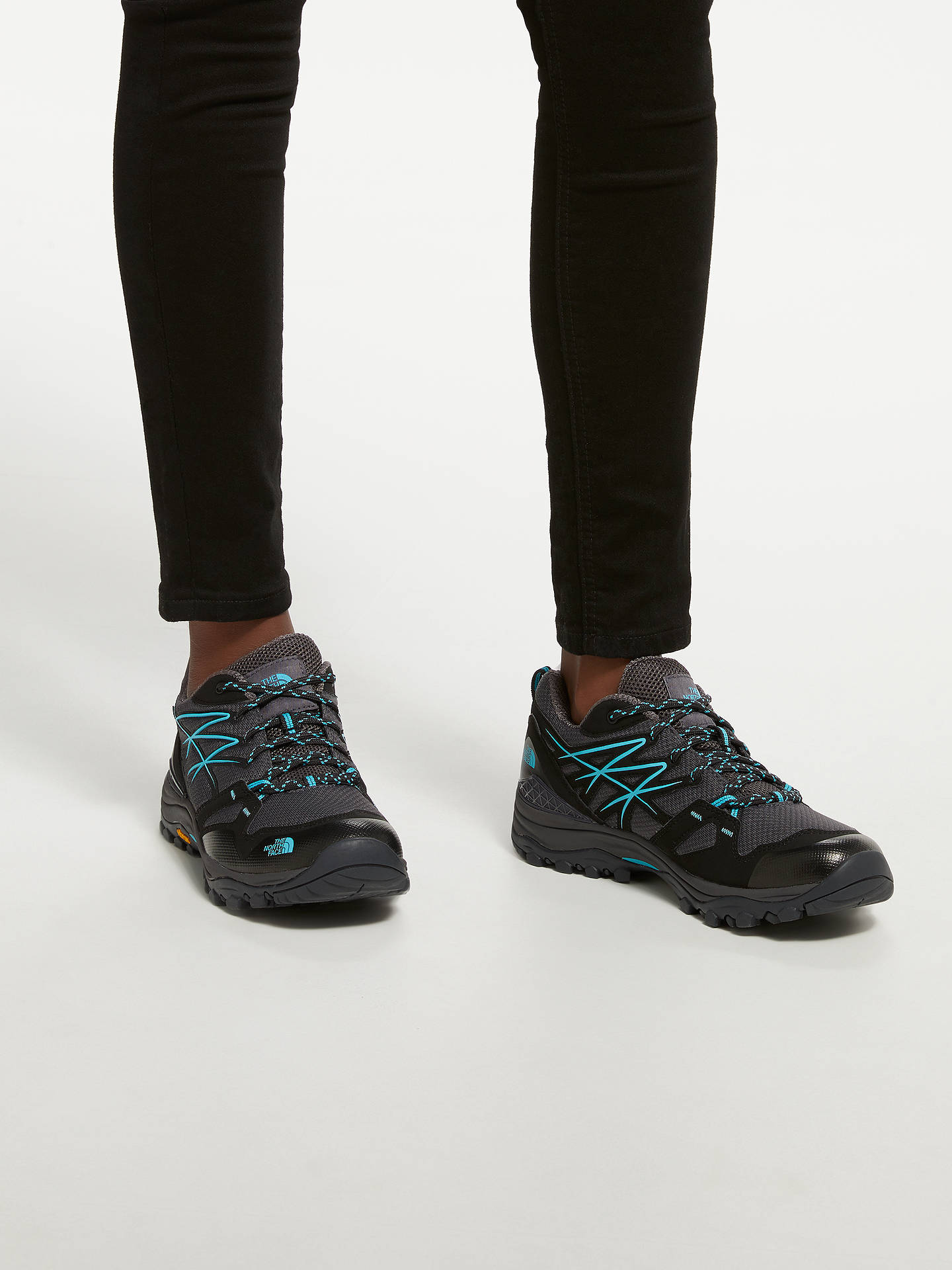 Buy The North Face Hedgehog Fastpack GORE-TEX Waterproof Women's Hiking Shoes, Blackened Pearl, 7 Online at johnlewis.com