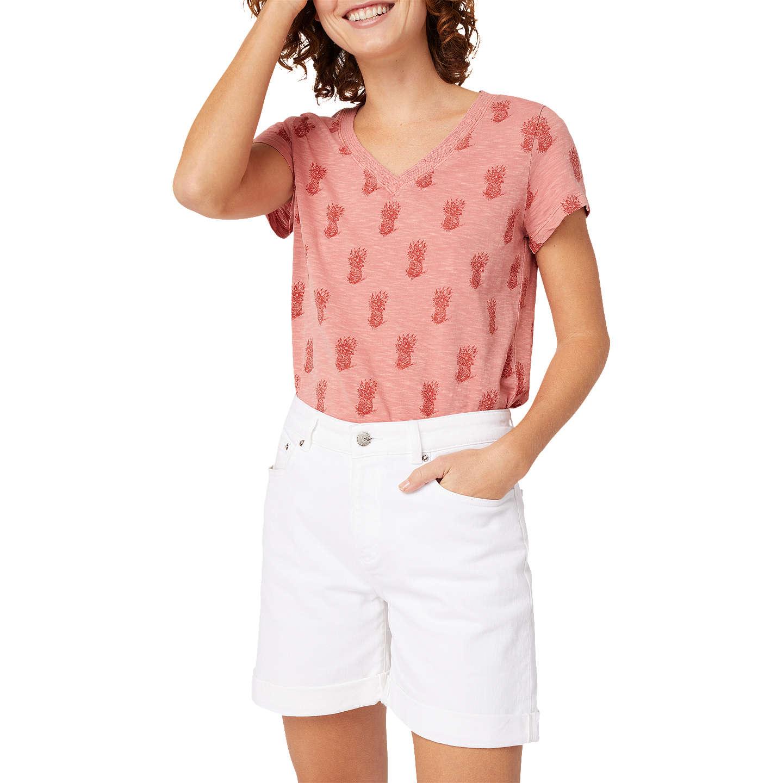 BuyWhite Stuff Eva Boyfriend Denim Shorts White
