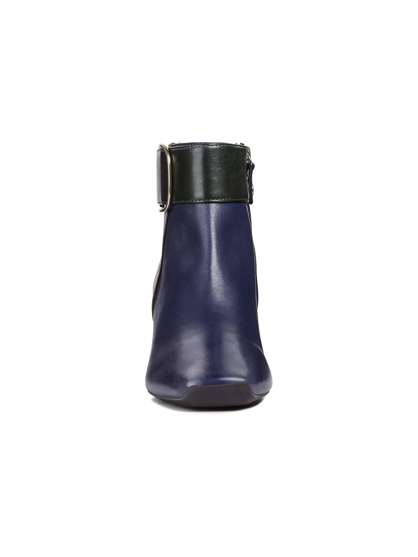 65a3bc5c32227 ... Buy Geox Women's Vivyanne Block Heel Ankle Boots, Blue/Multi Leather, 4  Online ...