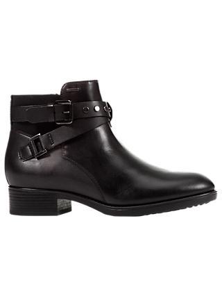 Geox Women s Felicity Napa Block Heel Ankle Boots e00721c70ce8