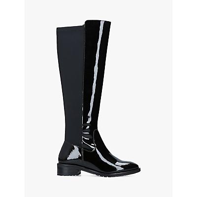 8c0885f6b4c Kurt Geiger London Rayko Patent Long Boots