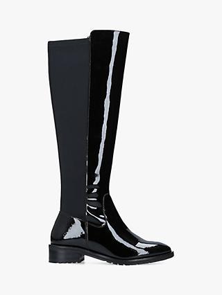 1506237f5a2d Kurt Geiger London Rayko Patent Long Boots