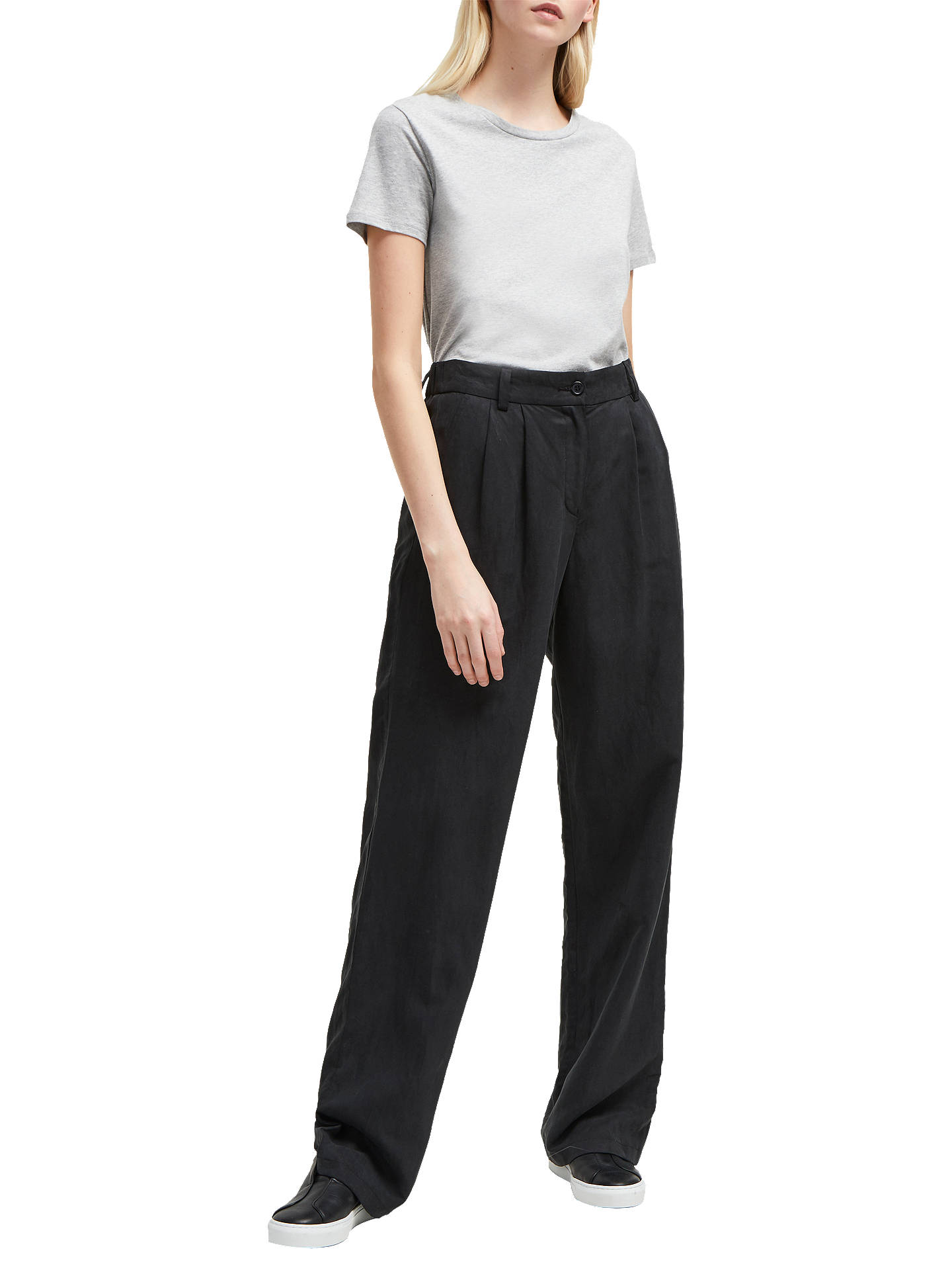 540e930f62d Buy French Connection Caspia Trousers, Black, 6 Online at johnlewis.com ...