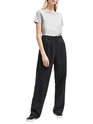 French Connection Caspia Trousers, Black
