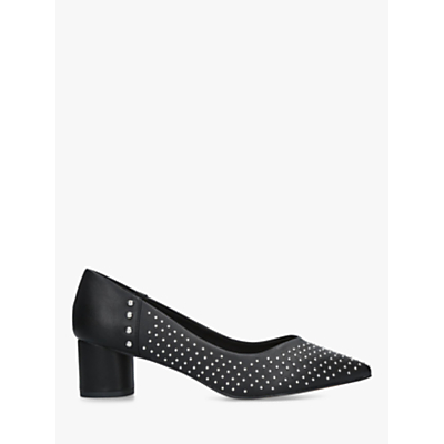 KG Kurt Geiger Abigail Block Heel Court Shoes