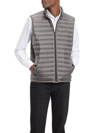Tommy Hilfiger Down Packable Gilet, Grey