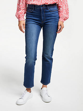 Buy Paige Hoxton Straight Leg Cropped Jeans, Dixon, 28 Online at johnlewis.com