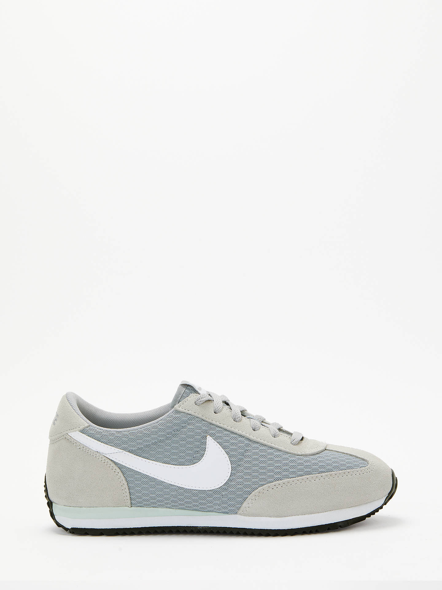 finest selection 4d6c9 0e1df BuyNike Oceania Textile Womens Trainers, Grey, 8 Online at johnlewis. ...