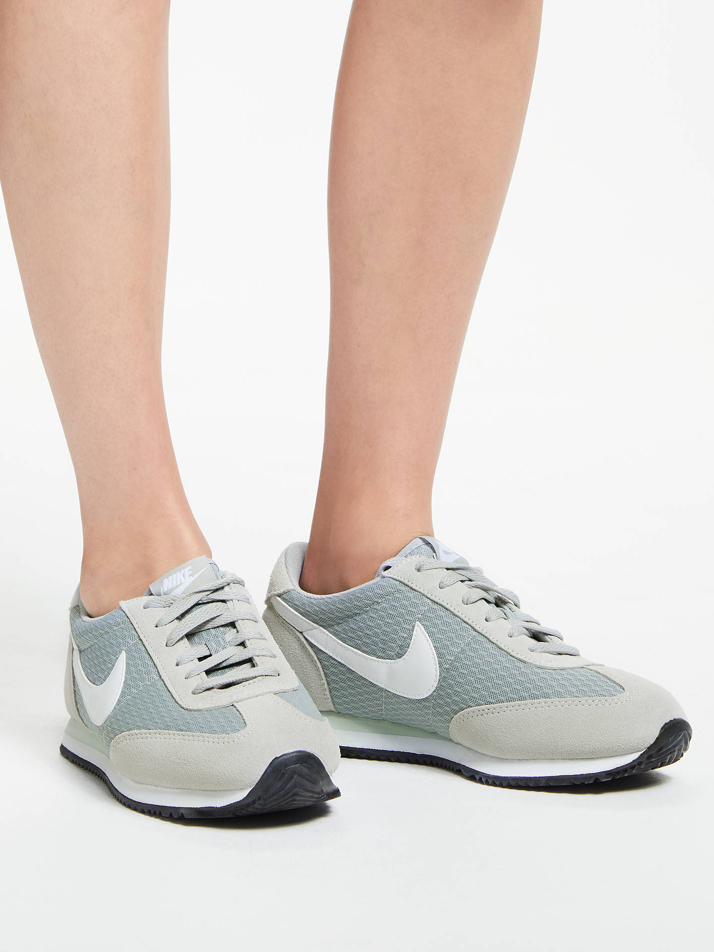 the latest 202fb 6da7b ... BuyNike Oceania Textile Womens Trainers, Grey, 8 Online at johnlewis.  ...