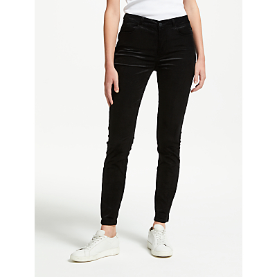 Paige Hoxton Mid Rise Skinny Corduroy Jeans