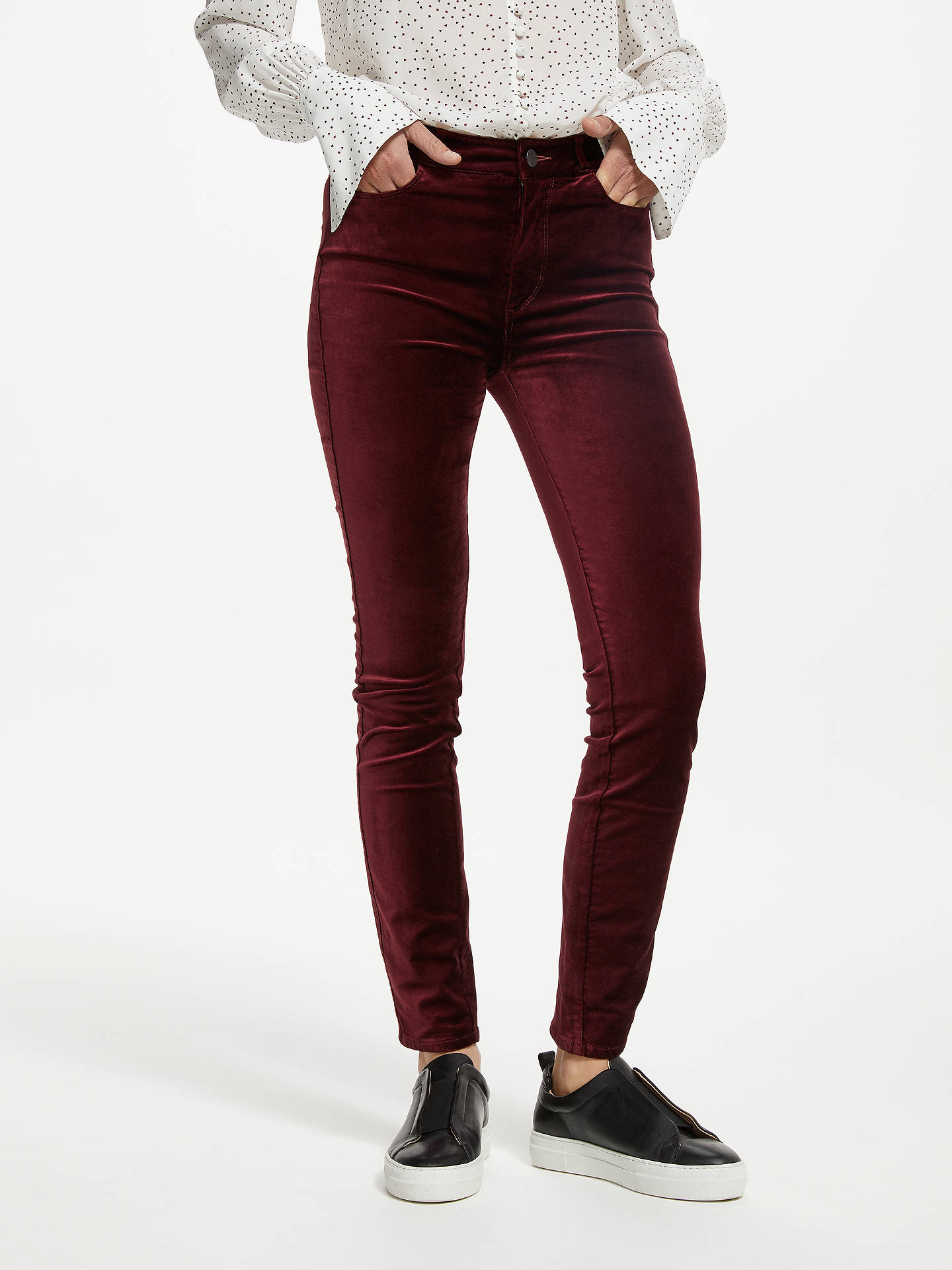 PAIGE Womens Hoxton High Rise Ultra Skinny Jean