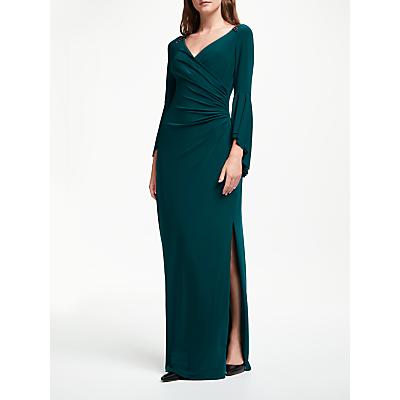 Lauren Ralph Lauren Kalea Ruched Front Dress, Spruce