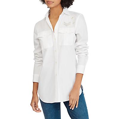Lauren Ralph Lauren Courtenay Cotton Shirt, White