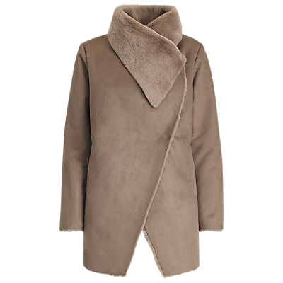Lauren Ralph Lauren Faux Shearling Jacket, Mink