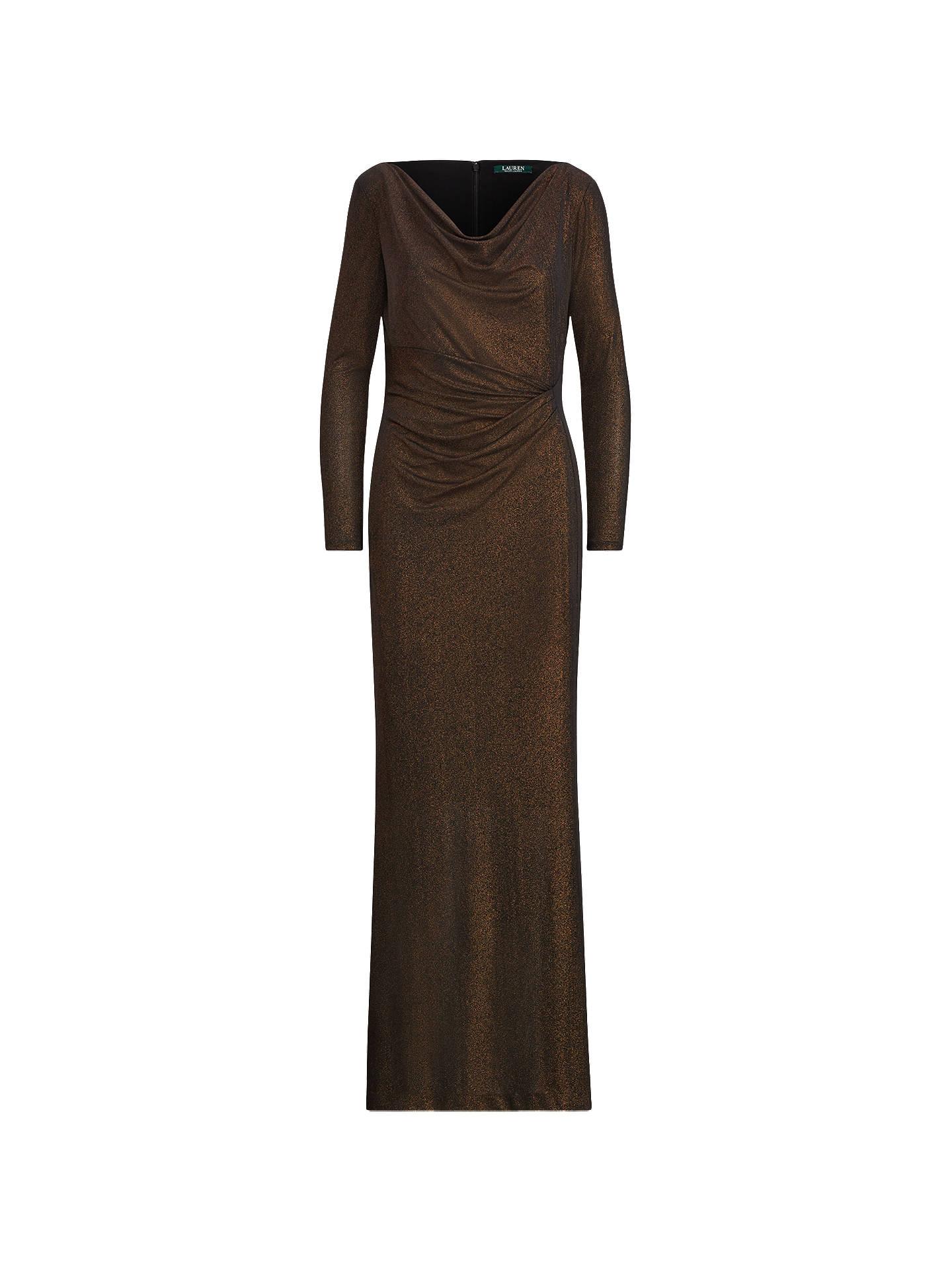 7fa08ba4afe Buy Lauren Ralph Lauren Metallic Jacquard Dress