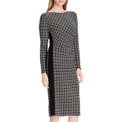 Lauren Ralph Lauren Drewly Dress, Black/Grey