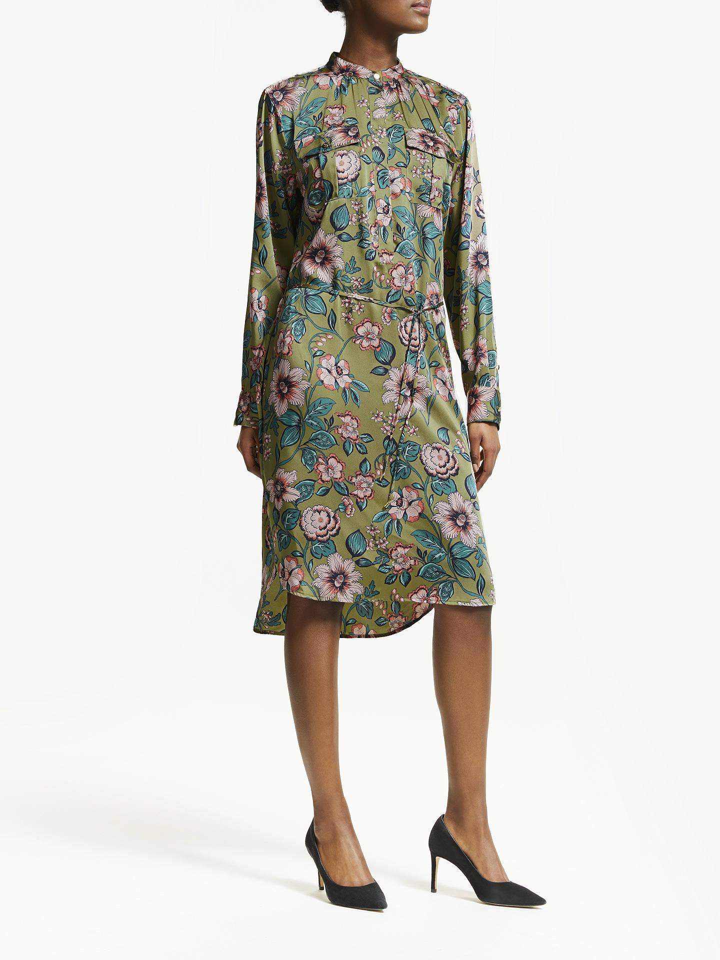 fd2ab9a9840e0 Buy Lauren Ralph Lauren Joruby Long Sleeve Floral Dress, Multi, 16 Online  at johnlewis ...