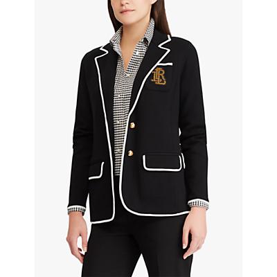 Lauren Ralph Lauren Alvarta Jacket, Polo Black/Mascarpone Cream