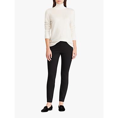 Lauren Ralph Lauren Athedora Ankle Trousers, Black