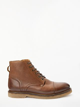 John Lewis & Partners Worker Boots, Tan