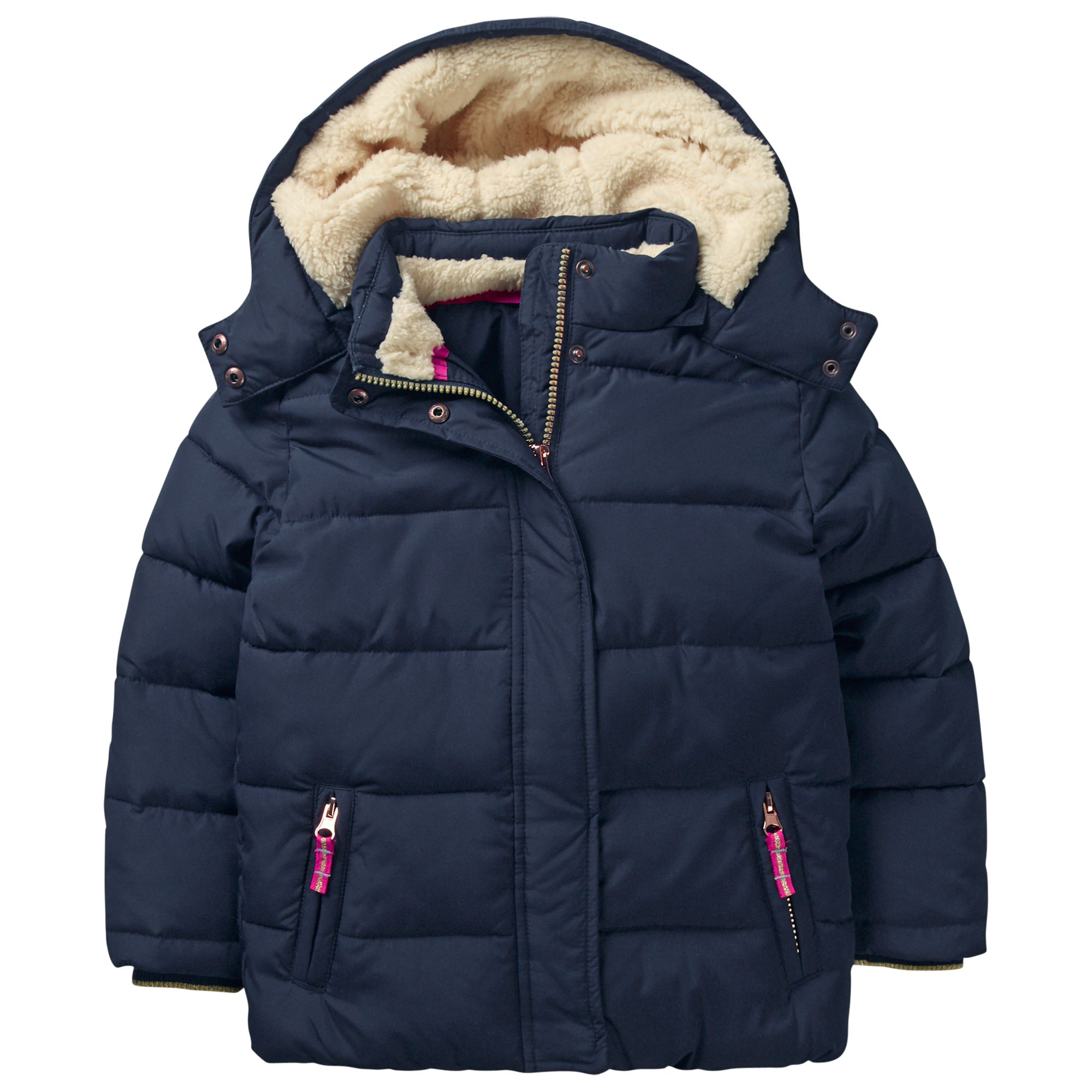 b5c406140ea3 Mini Boden Girls  Cosy Padded Jacket