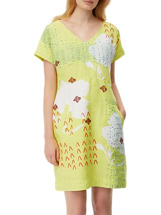 White Stuff Watercolour Dress, Multi