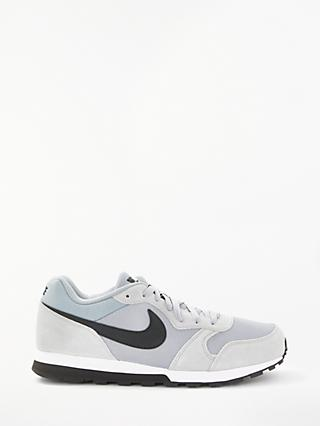 Nike MD Runner 1 Men's Trainers, Wolf Grey/Black White