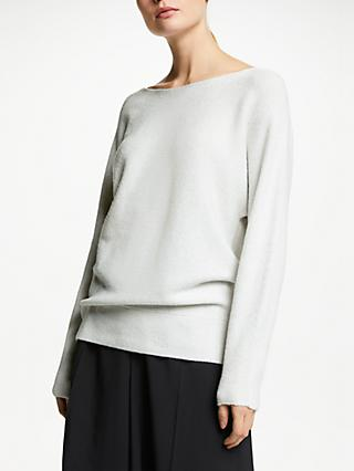 52894618a9c5 John Lewis   Partners Dolman Sleeve Ribbed Boat Neck Jumper