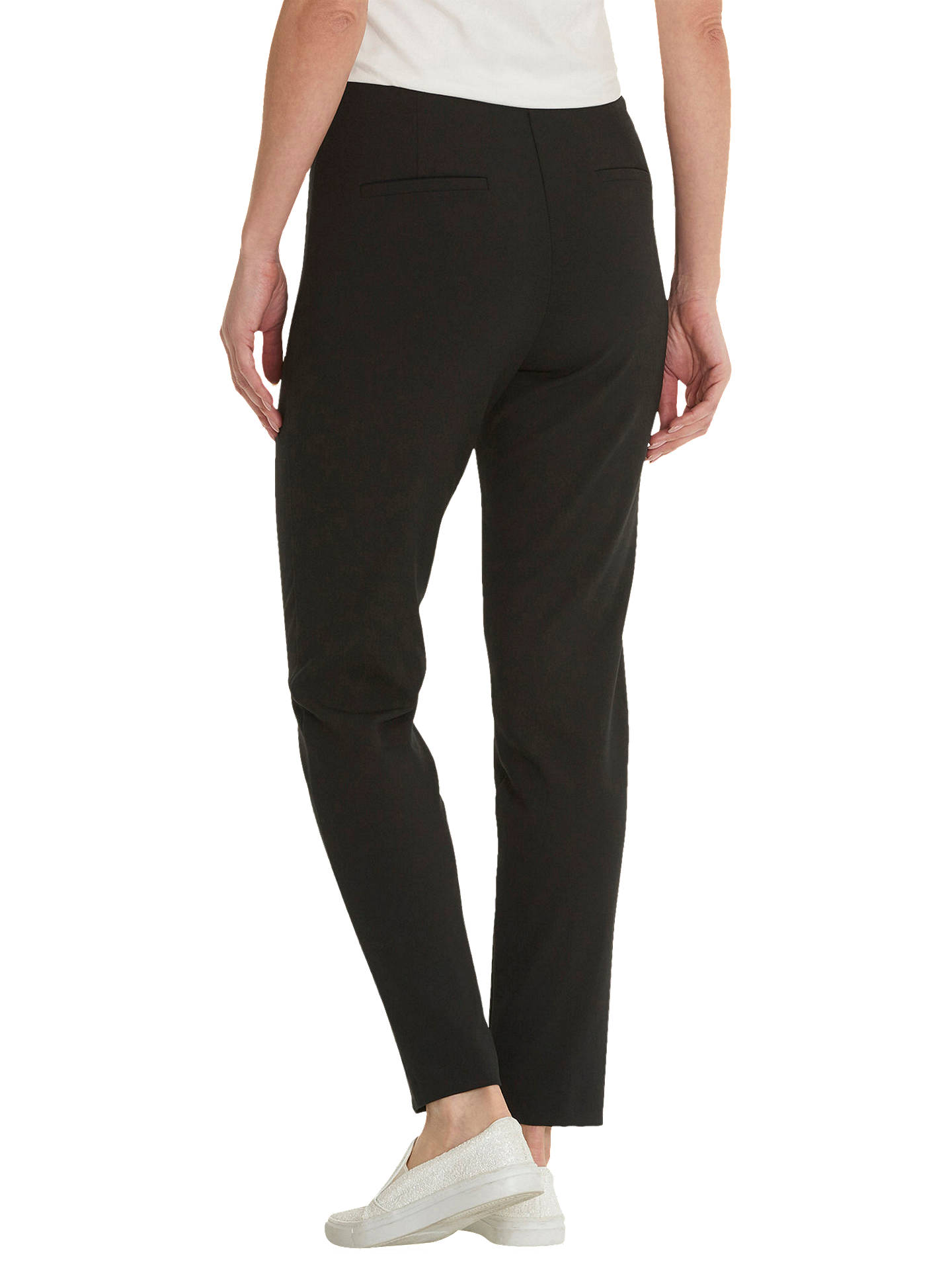 Buy Betty Barclay Tailored Trousers, Black, 20 Online at johnlewis.com
