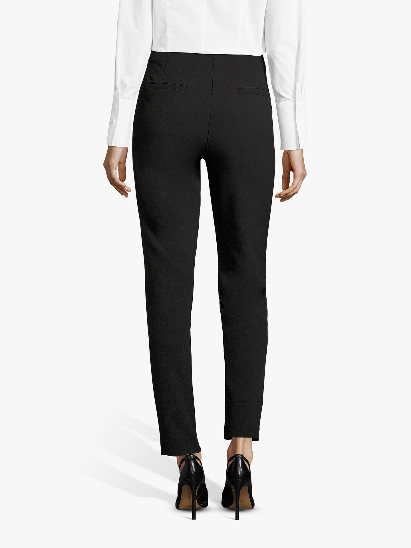 BuyBetty Barclay Tailored Trousers, Black, 20 Online at johnlewis.com