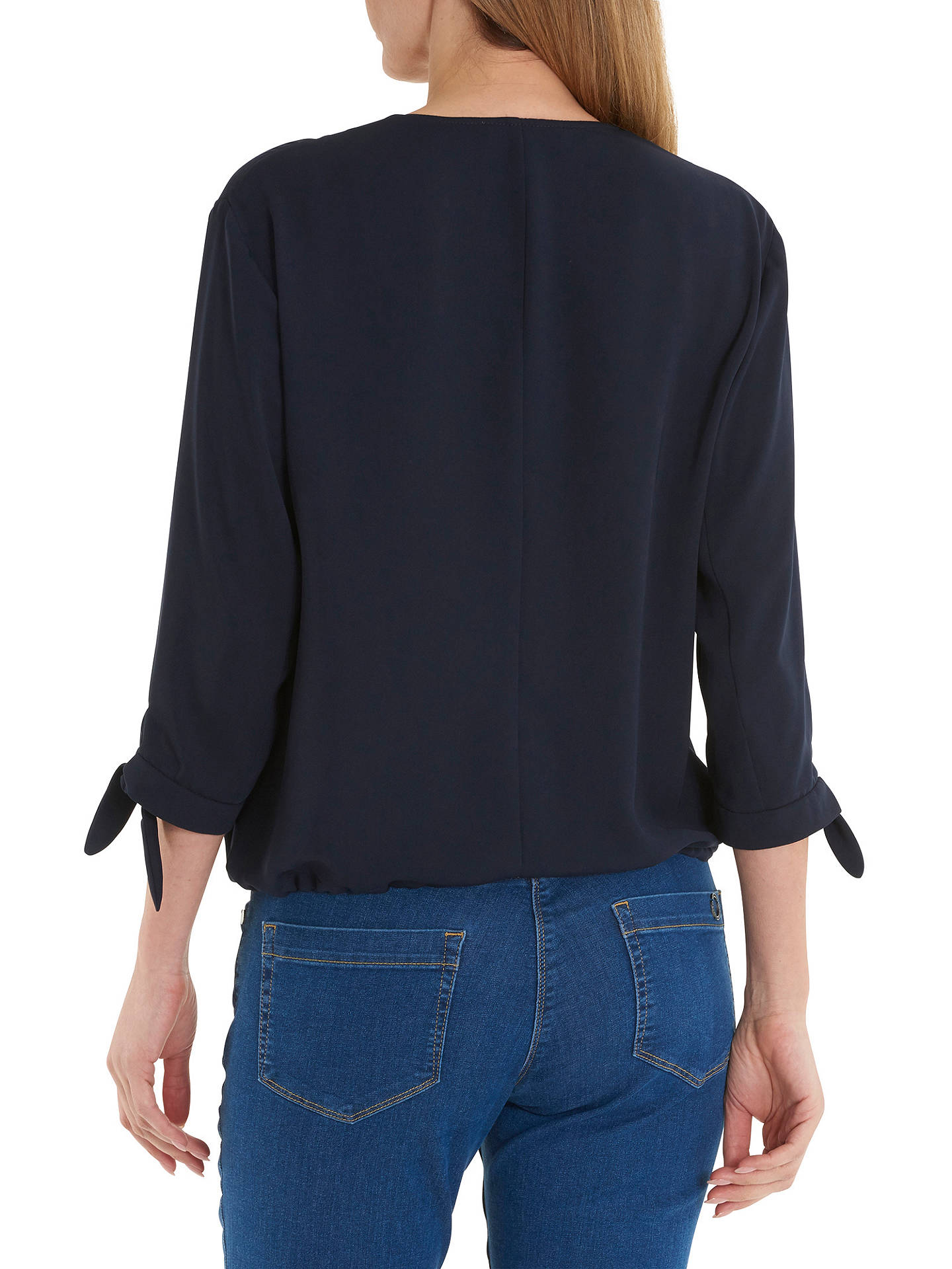 BuyBetty Barclay Unlined Blouson Jacket, Dark Sky, 10 Online at johnlewis.com