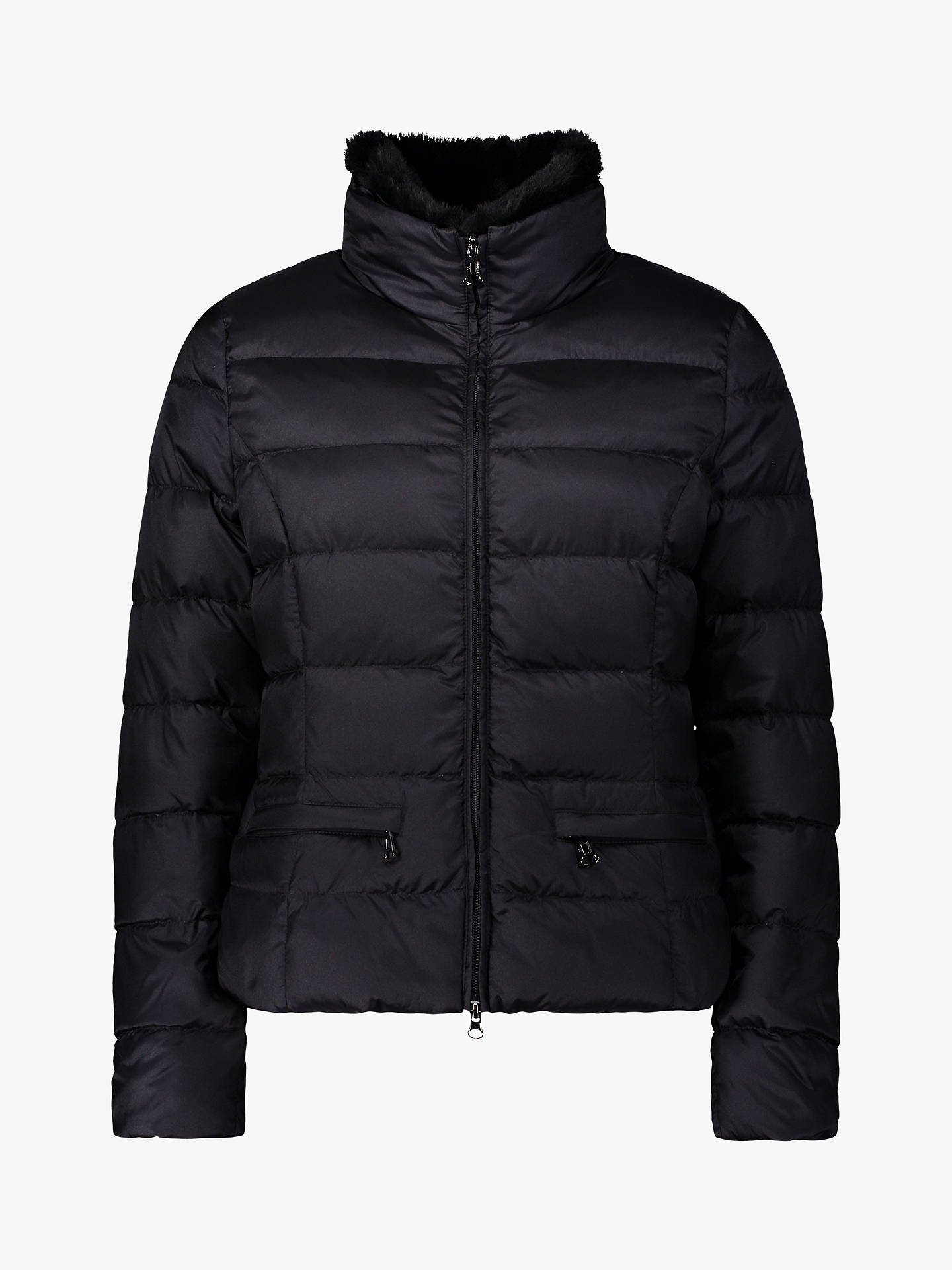 BuyBetty Barclay Quilted Down Jacket, Deep Navy, 14 Online at johnlewis.com