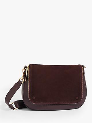 e76ec3dbe46 Jigsaw Nico Zip Leather Satchel Bag